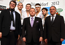 Judo Grandprix Düsseldorf 2012 Allemagne Images stock