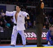 Judo Grandprix Düsseldorf 2012 Allemagne Photos libres de droits