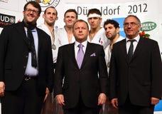 Judo Grandprix Düsseldorf 2012 Germania Immagini Stock