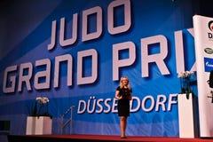 Judo Grandprix Düsseldorf 2012 Alemania Fotografía de archivo