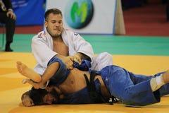 Judo - Karl-Richard Frey och Domenico Di Guida Royaltyfria Bilder