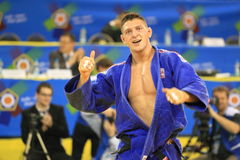 Judo - Lukas Krpalek Royalty Free Stock Photography