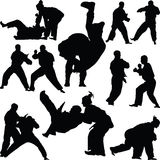 Judo martial art Royalty Free Stock Image