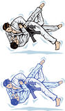 Judo trip Stock Images