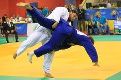 Judo - Vladut Джордж Simionescu Стоковые Изображения