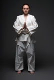 Judo woman Royalty Free Stock Photos