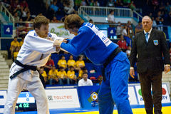 Judo World Cup Men 2011 Royalty Free Stock Image