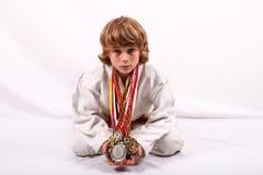 Judoka Imagem de Stock Royalty Free