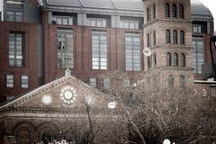 Judson Pamiątkowy kościół w wiośnie zdjęcia royalty free