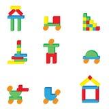 Juega iconos Fotos de archivo