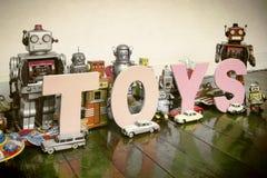 Juega los robots Imágenes de archivo libres de regalías