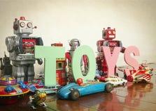 Juega los robots Imagen de archivo libre de regalías