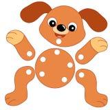 Juego 133, el perro que se cortará Imágenes de archivo libres de regalías