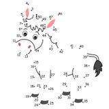 Juego 136, el burro Imágenes de archivo libres de regalías