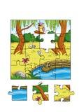 Juego 2 - rompecabezas Imagen de archivo libre de regalías