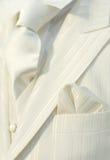 Juego blanco de la boda imágenes de archivo libres de regalías