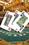 Juego - casino imagenes de archivo