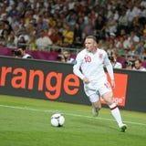 Juego Cuarto-final Inglaterra v Italia del EURO 2012 de la UEFA Fotografía de archivo