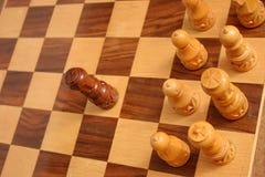 Juego de ajedrez Imagen de archivo libre de regalías