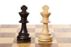 Juego de ajedrez. Imagenes de archivo