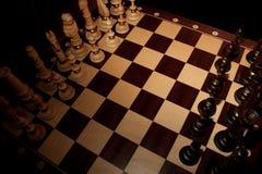 Juego de ajedrez. Fotos de archivo