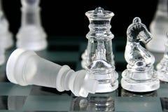 Juego de ajedrez 3 Foto de archivo