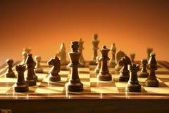 Juego de ajedrez Imagenes de archivo