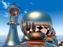 Juego de ajedrez Foto de archivo libre de regalías