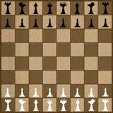 Juego de ajedrez Fotos de archivo libres de regalías