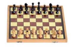 Juego de ajedrez clásico Fotografía de archivo libre de regalías