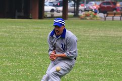 Juego de béisbol Fotografía de archivo libre de regalías