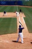 Juego de béisbol Imágenes de archivo libres de regalías