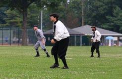 Juego de béisbol clásico Fotos de archivo