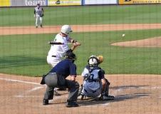 Juego de béisbol del campeonato de la High School secundaria Foto de archivo