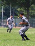 Juego de béisbol histórico Imagenes de archivo