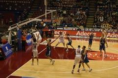 Juego de baloncesto Fotos de archivo