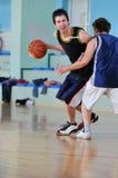 Juego de baloncesto Fotos de archivo libres de regalías