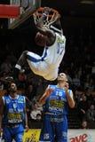 Juego de baloncesto de Kaposvar - de Albacomp Imágenes de archivo libres de regalías