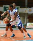 Juego de baloncesto de Kaposvar - de Fehervar Imagen de archivo