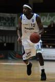 Juego de baloncesto de Kaposvar - de Paks Imagen de archivo libre de regalías