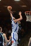 Juego de baloncesto de Kaposvar - de Szeged Imagenes de archivo