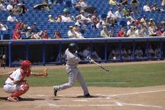 Juego de béisbol Foto de archivo