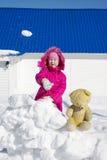 Juego de bolas de nieve Foto de archivo