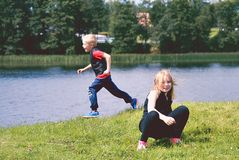 Juego de Childs Imagen de archivo