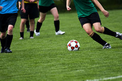 Juego de fútbol Fotografía de archivo