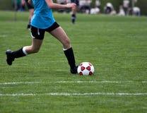 Juego de fútbol Fotos de archivo libres de regalías