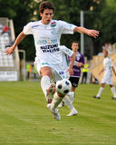 Juego de fútbol de Kaposvar - de Kecskemet Foto de archivo
