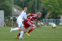 Juego de fútbol de Luneburg - de Brescia Foto de archivo libre de regalías