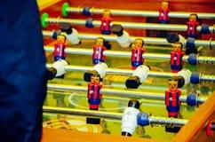 Juego de fútbol del vector foto de archivo