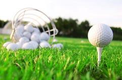 Juego de golf. Imágenes de archivo libres de regalías